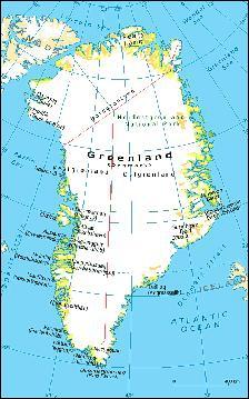 Le Groenland fait partie de :