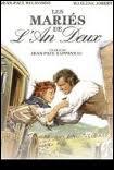 Qui est la partenaire de Belmondo dans 'Les mariés de l'an II' de Jean-Paul Rappeneau ?