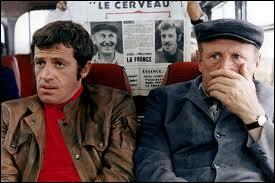 Quel est ce film de Gérard Oury qui réunit Belmondo et Bourvil ?