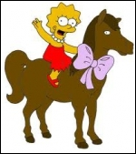 Comment s'appelle le poney de Lisa ?