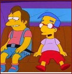 Avec qui Lisa est-elle sortie dans l'épisode ' Le gros petit ami de Lisa ' ?