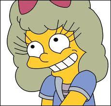 Comment s'appelle la fille qui l'a battue au concours de ' la reine des miss de Springfield' ?