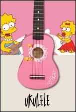 A part le ukulélé , de quel instrument de musique joue-t-elle dans l'orchestre de l'école ?