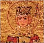 Qu'obtenait la fiancée de l'empereur à son arrivée dans le Palais Sacré ?