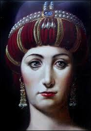 Quel est le titre de l'impératrice, en grec, à Constantinople ?