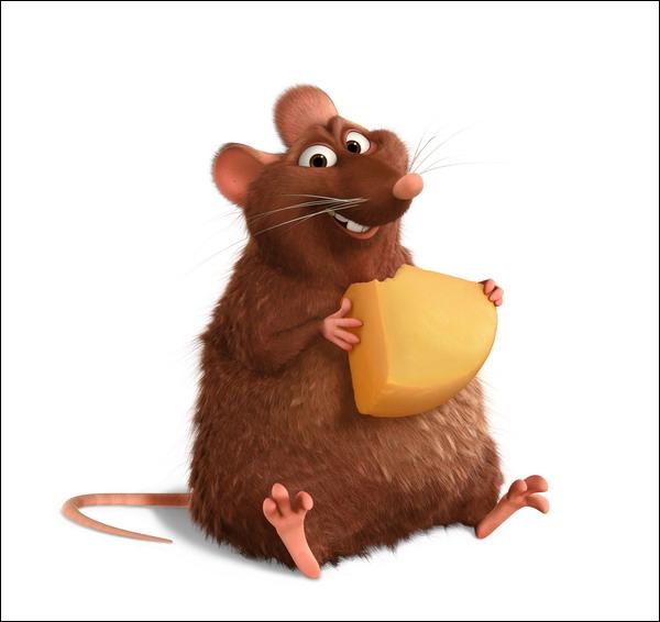 J'apparais dans ''Ratatouille''. Qui suis-je ?