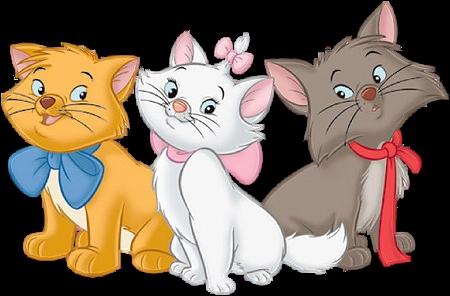 Nous sommes trois adorables chatons frères et sœurs :