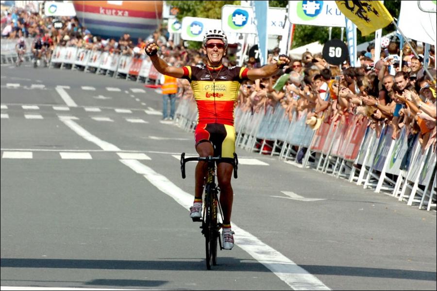 Le champion de la Belgique a tout raflé cette saison : Liège-Bastogne-Liège, Amstel Gold Race, Flèche Wallone, Classique San Sebastian, ... pour remporter la coupe du monde cette année. Qui est-il ?