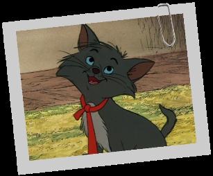 Comment s'appelle l'un des 3 chatons de la famille des Aristochats ?