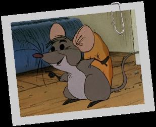 Comment s'appelle cette souris, ami des Aristochats, et habitant dans la maison de 'Madame' ?