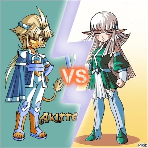 Où se déroulera le combat Akitten/Shimy ?