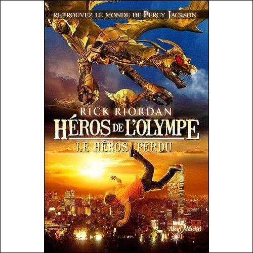 Dans les Héros de l'Olympe, qui sont les trois nouveaux personnages ?