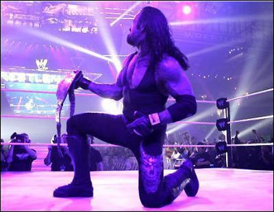 À WrestleMania XXIV, The Undertaker devient World Heavyweight Champion pour la :