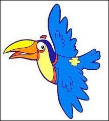 Quel oiseau est l'ami de Dora ?