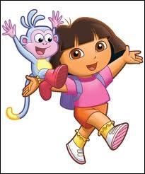 Comment s'appelle le petit singe qui l'accompagne ?