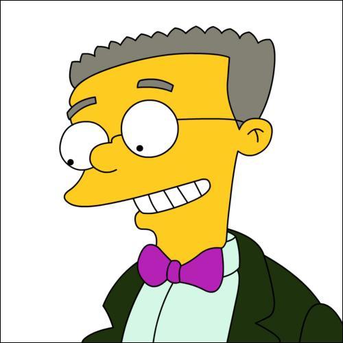 De qui Smithers est-il amoureux ?