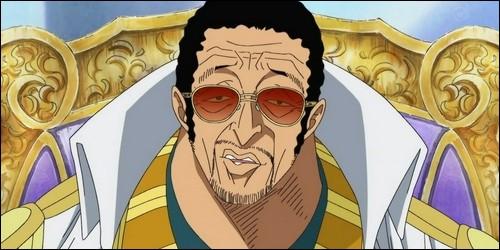 Comment est surnommé l'amiral Kizaru ?