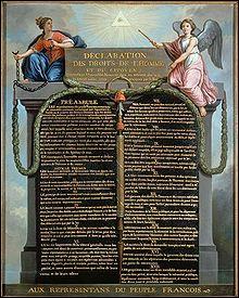 Quand eu lieu la prise de la Bastille ainsi que la Déclaration des droits de l'homme et du citoyen ?