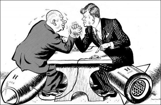 """Quelles sont les dates de la """" Guerre froide """" ?"""