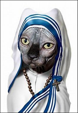 Elle prie pour ses maîtres tous les jours...