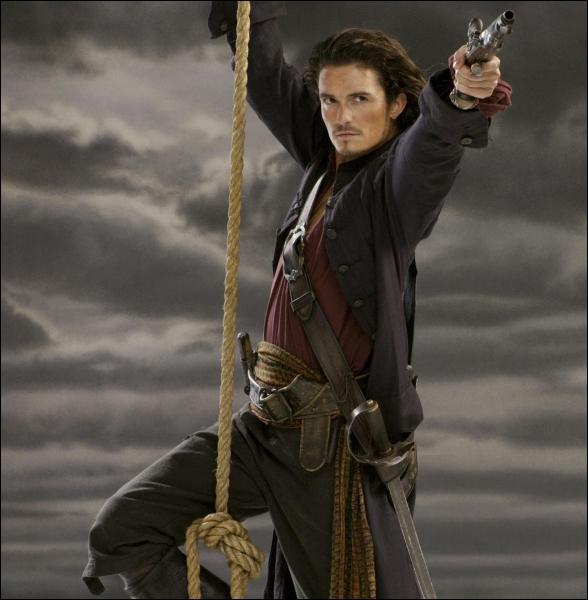 Mari d'Elizabeth Swann, il est interprété par Orlando Bloom. Qui est-il ?