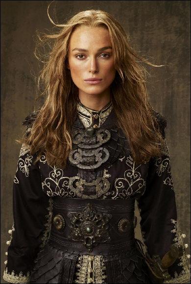 Elle devient seigneur des pirates de Singapour à la mort de Sao Feng. Elle est interprétée par Keira Knightley. Qui est-elle ?
