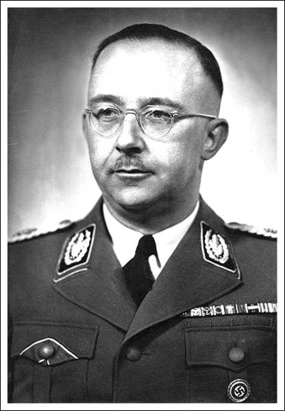 Chef des SS et de la Gestapo :