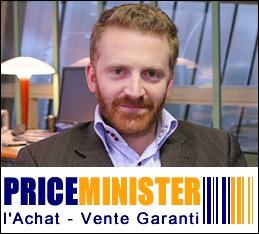 Co-fondateur, en 2000, du site de vente en ligne PriceMinister, qui sera revendu 200 millions d'euros en 2010 :