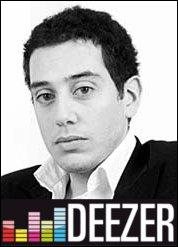 Un des deux fondateurs, en 2007, du site Deezer, précurseur des sites légaux d'écoute musicale en streaming :