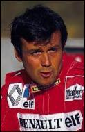 Il a remporté 2 Grands Prix au volant d'une Ferrari dans les années 80 :
