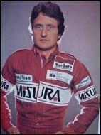 Ce pilote s'est tué en 1980 au cours d'une séance d'essais privés sur le circuit d'Hockenheim (Allemagne) au volant d'une Alfa Romeo.