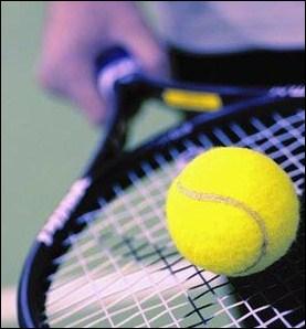 ____, AVAIT lieu une compétition de tennis.
