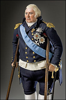 """Louis XVIII est déjà très âgé et malade lorsqu'il accède au pouvoir. La goutte s'attaque à ses jambes et ses pieds au point qu'il ne peut se déplacer qu'avec des béquilles ou en chaise roulante. Il a déclaré avec humour à propos de son infirmité : """"Vous vous plaignez d'un roi sans jambes, vous verrez ce qu'est un roi sans tête"""". À qui fait-il allusion lorsqu'il parle d'un """"roi sans tête"""" ?"""