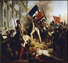 Comment sont appelées les journées de Révolution qui entraîneront la chute de Charles X ?