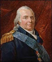 L'arrivée sur le trône de France du comte de Provence marque le retour au pouvoir de la maison des Bourbons. Sous quel nom a-t-il régné, après un exil de 23 ans ?