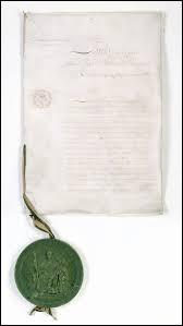 Comment est appelé le texte constitutionnel octroyé par le roi au peuple français ? (Ce texte est un compromis entre l'Ancien Régime et les acquis de la Révolution)