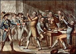 Le régime n'arrive à se maintenir que par une série de coups d'Etat. Quelle est la date dans le calendrier révolutionnaire du coup d'Etat du 4 septembre 1797 qui était destiné à éliminer l'opposition royaliste devenue majoritaire aux élections législatives ?