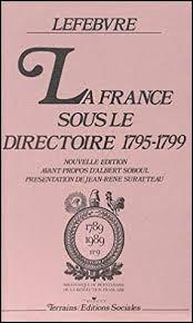A quel régime le Directoire a-t-il succédé de 1795 à 1799 ?