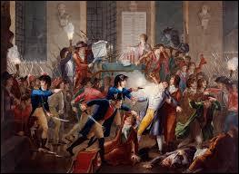 Par quel coup d'Etat du 27 juillet 1794 Robespierre a-t-il été renversé pour mettre fin à la Terreur ?