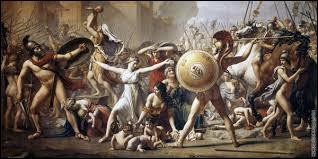 """Quel grand peintre est l'auteur du tableau """"Les Sabines"""" considéré comme un plaidoyer pour la réconciliation du peuple français après l'effusion de sang de la révolution ?"""