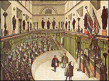 La nouvelle constitution de l' an III prévoit le séparation des pouvoirs législatif et excécutif. Laquelle de ces assemblées législatives n'était pas en vigueur sous le Directoire ?