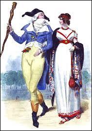 Quel courant de mode caractérisé par ses extravagances est adoptée par les hommes et femmes de la jeunesse dorée parisienne ?