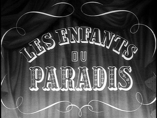 'Les enfants du paradis'