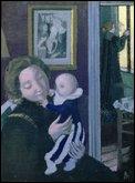 Qui a peint 'L'enfant au pantalon bleu' ?