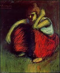 Qui a peint 'La jupe rouge' ?
