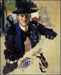 Quel peintre belge est l'auteur de la toile 'Autoportrait à la veste de velours noir' ?