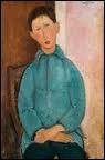 Qui a peint 'Garçon dans une chemise bleue' ?