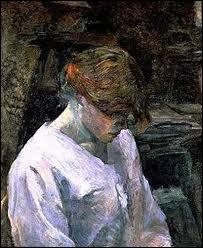 Qui a peint 'La rousse au chemisier blanc' ?