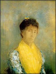 Qui a peint 'Femme avec un corsage jaune' ?