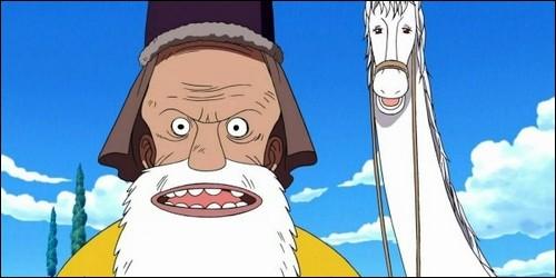 Que faisait Tonjit lorsque Luffy et ses compagnons arrivent sur l'île Longring Longland ?